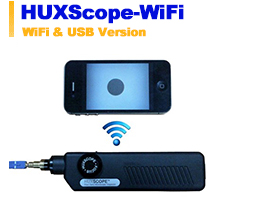 Ofa Smartphone App >> Application Products - HUXScope™ Fiber Optic Inspector | Products | TheFibers Inc
